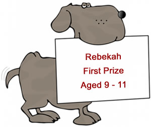 Children's Poetry Competition - First Prize Age 11 to 13