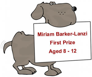 Children's Poetry Competition - Under 8 First Prize